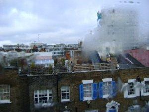 West London through steamy windows!